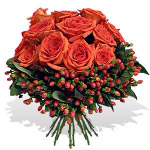 Premium Orange Roses Bouquet