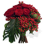 Premium Red Roses Bouquet